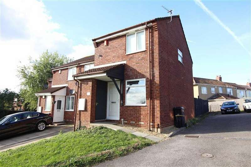 2 Bedrooms End Of Terrace House for sale in Emra Close, Bristol