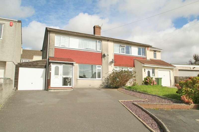 3 Bedrooms Semi Detached House for sale in Boringdon Close, Plymouth