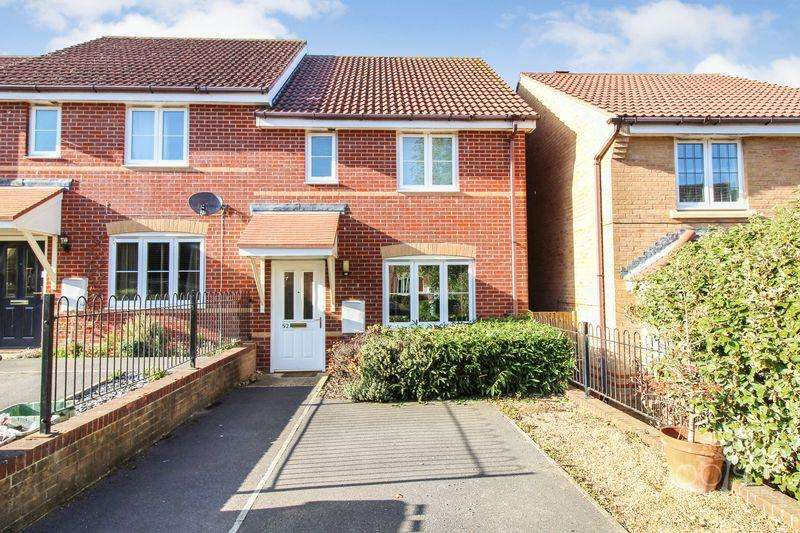 3 Bedrooms End Of Terrace House for sale in Florence Gardens, Thatcham