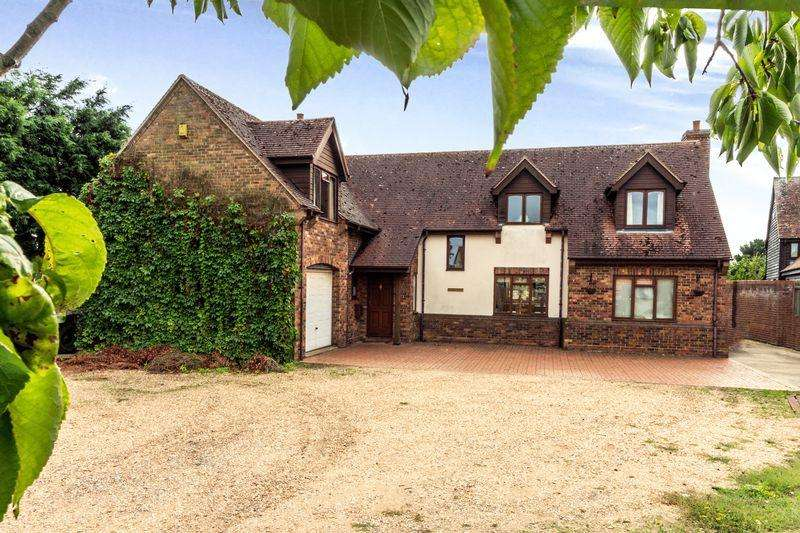 4 Bedrooms Detached House for sale in St Ives Road, Old Hurst, Huntingdon, Cambridgeshire.