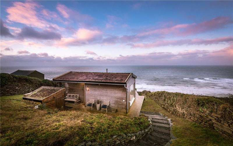 1 Bedroom Detached House for sale in Seaglass, Tregonhawke, Whitsand Bay,, Cornwall