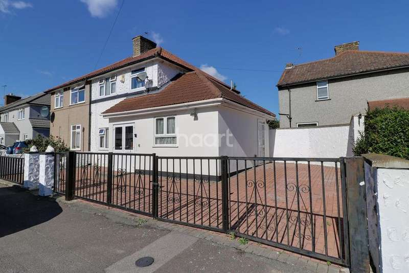 3 Bedrooms End Of Terrace House for sale in Urswick Road, Dagenham