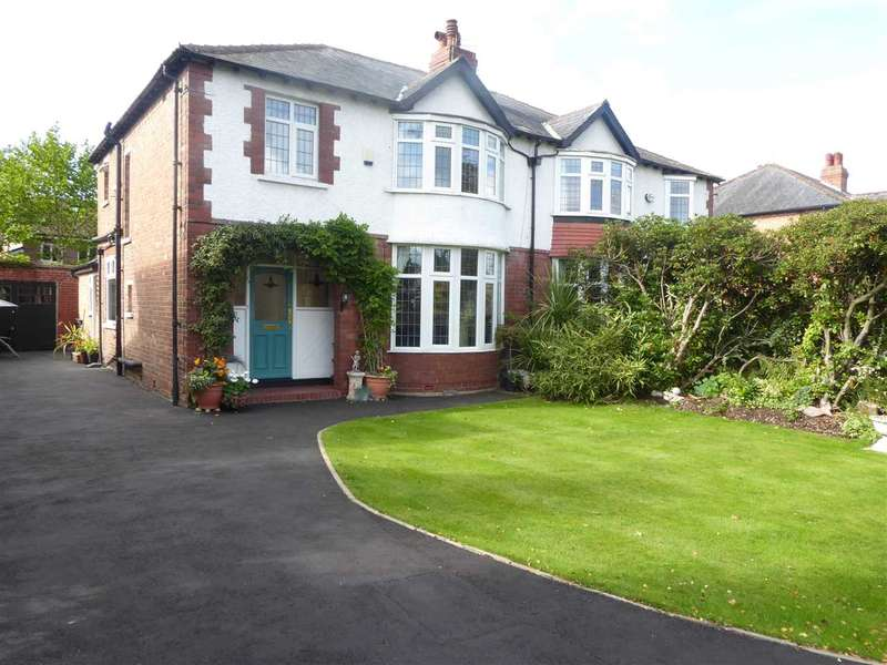 3 Bedrooms Semi Detached House for sale in Altrincham Road, Gatley, Cheshire