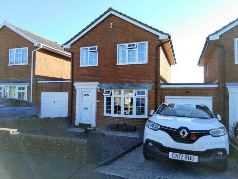 3 Bedrooms Link Detached House for sale in Croesonen Parc, Abergavenny