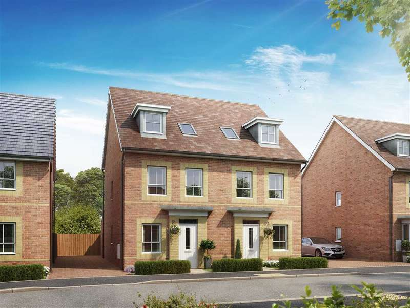 3 Bedrooms Terraced House for sale in The Abingdon, Cricket Field Grove, Crowthorne