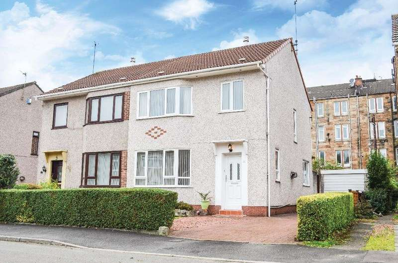 3 Bedrooms Semi Detached House for sale in Brenfield Avenue, Muirend, Glasgow, G44 3LR