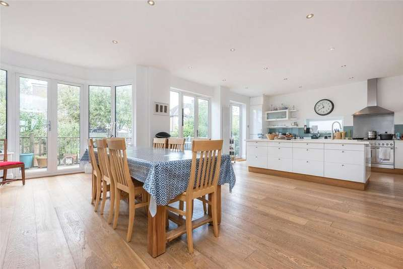 4 Bedrooms Semi Detached House for sale in Trevelyan Gardens, London, NW10
