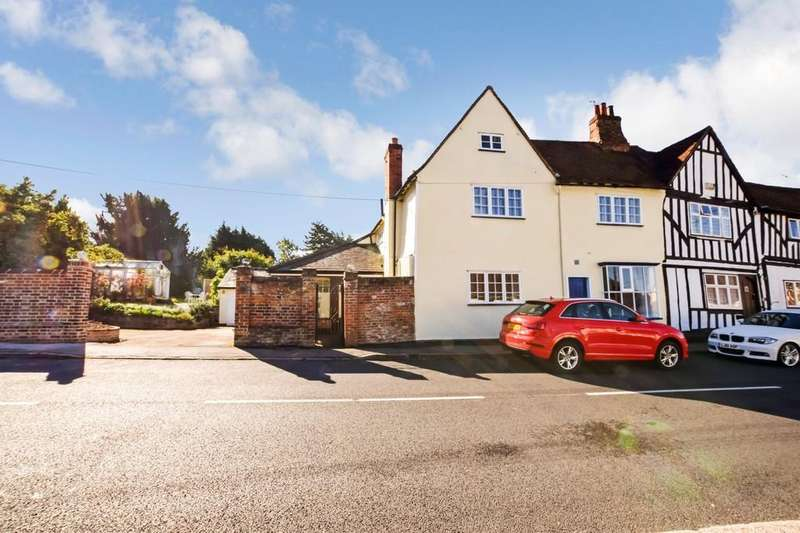 3 Bedrooms Semi Detached House for sale in St. James Street, Castle Hedingham CO9 3EW