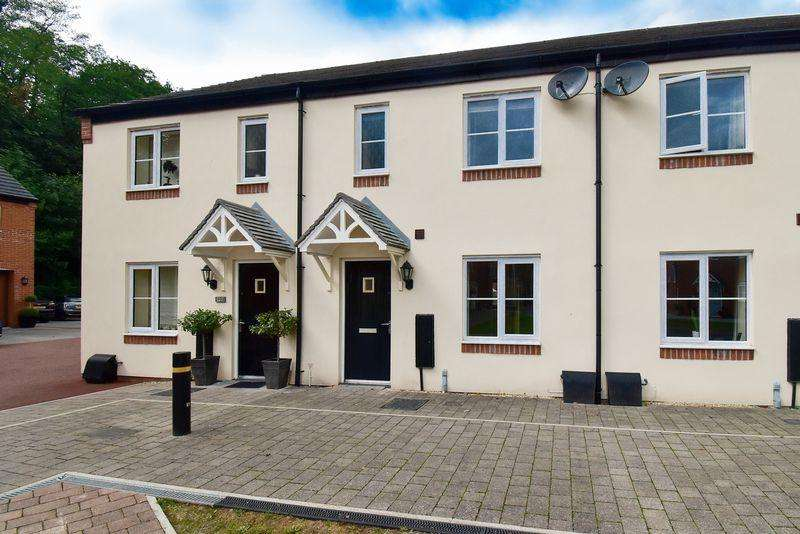 3 Bedrooms End Of Terrace House for sale in Bath Vale, Congleton, High spec 3 bedroom, 2 bath/ shower room mews, woodland location