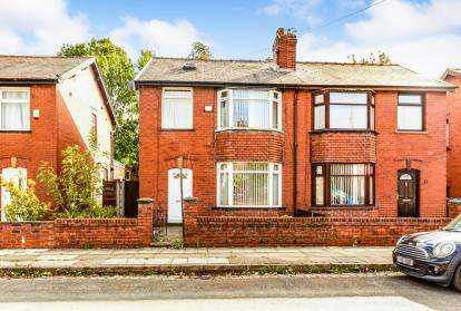 3 Bedrooms Semi Detached House for sale in Eastham Avenue, Walmersley, Bury, Greater Manchester, BL9