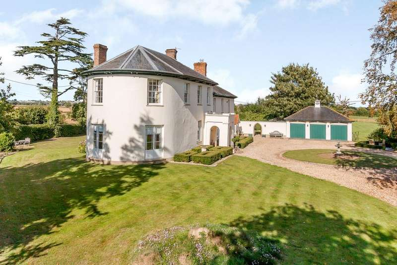5 Bedrooms Detached House for sale in Woolmersdon, North Petherton, Somerset