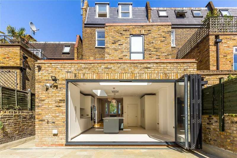 4 Bedrooms End Of Terrace House for sale in Frithville Gardens, Shepherd's Bush, London, W12
