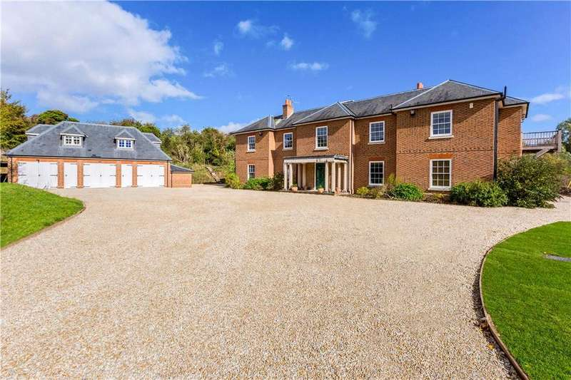 5 Bedrooms Detached House for sale in Weston, Newbury, Berkshire, RG20