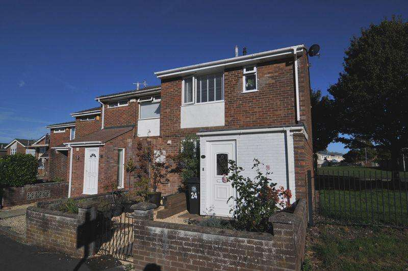 3 Bedrooms End Of Terrace House for sale in Yewcroft Close, Whitchurch, Bristol, BS14