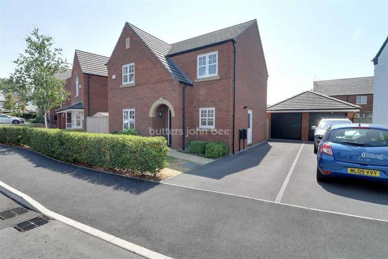 4 Bedrooms Detached House for sale in Holford Drive, Winsford