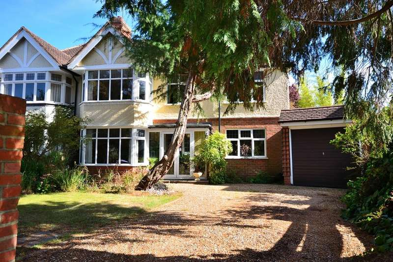 4 Bedrooms Semi Detached House for sale in Ramsbury Drive, Earley, Reading, Berkshire, RG6 7RT