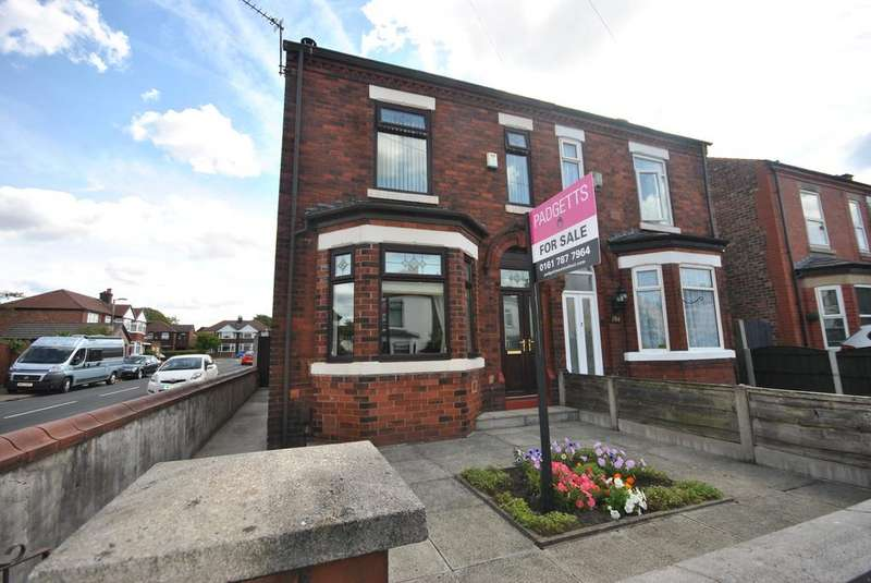 3 Bedrooms Semi Detached House for sale in Worsley Road, Winton, Manchester M30