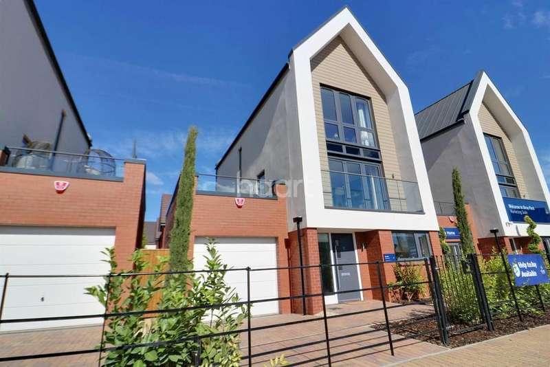 4 Bedrooms Detached House for sale in Tadpole Village, Swindon