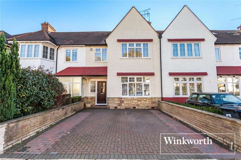 5 Bedrooms Terraced House for sale in Cadogan Gardens, Finchley, London, N3