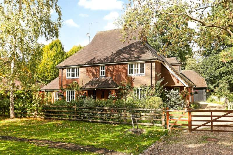 5 Bedrooms Detached House for sale in Coombe Lane, Worplesdon, Guildford, Surrey, GU3