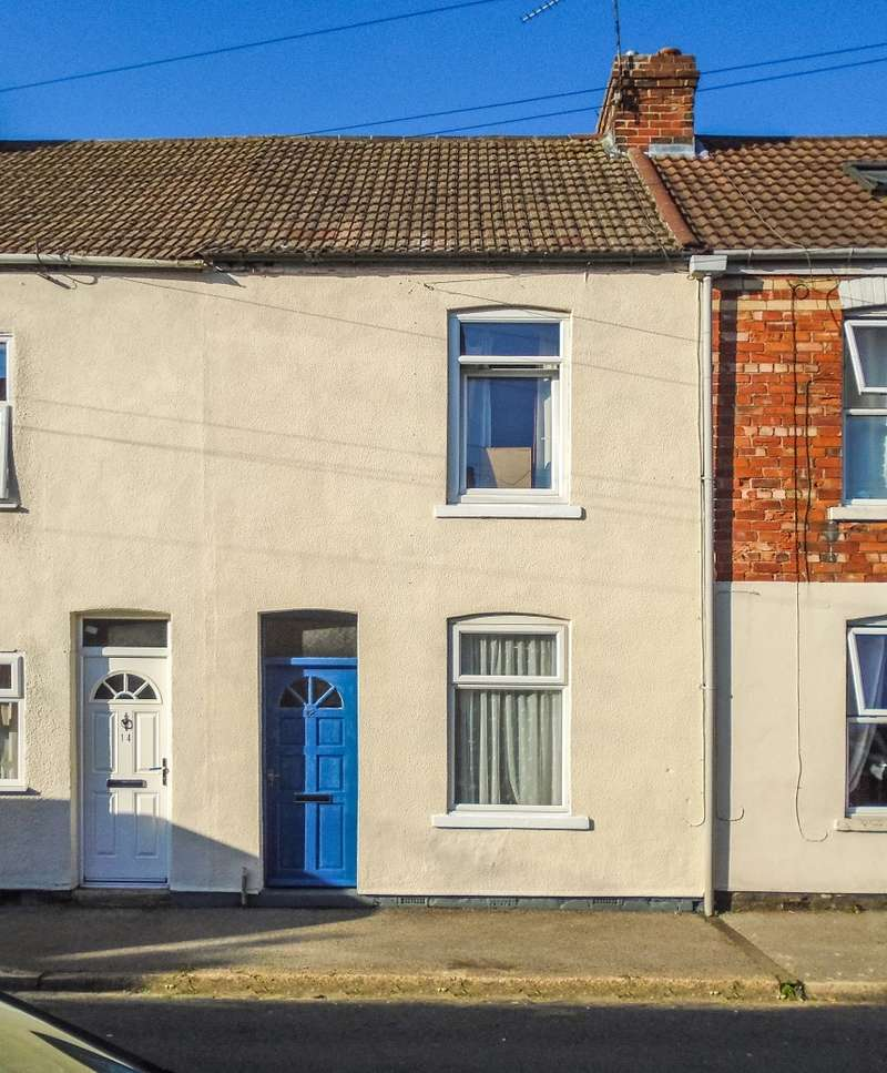 2 Bedrooms Terraced House for sale in Portland Terrace, Gainsborough, Lincolnshire, DN21 1JR