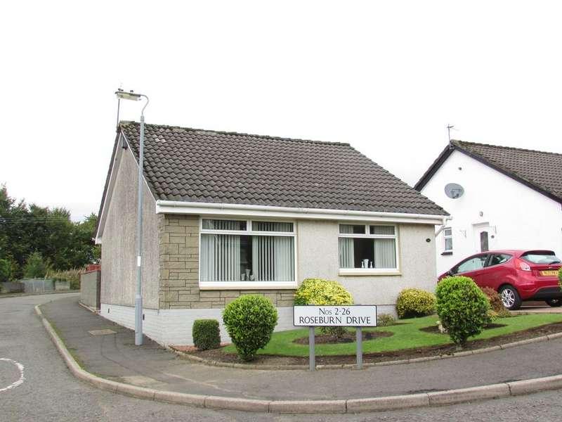 2 Bedrooms Detached Bungalow for sale in Roseburn Drive, Cumnock KA18
