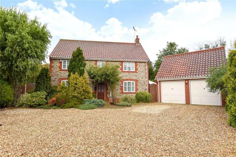 4 Bedrooms Detached House for sale in Watton Road, Wretham, Thetford, Norfolk
