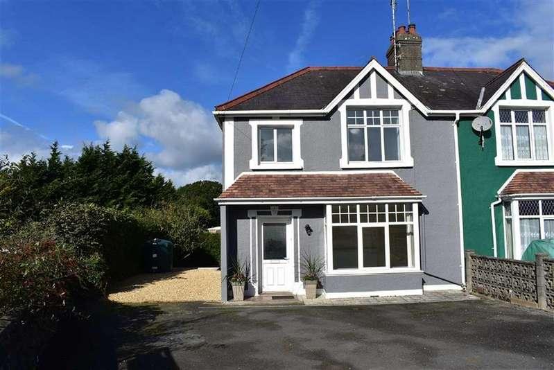 3 Bedrooms Semi Detached House for sale in Llanarth, Ceredigion