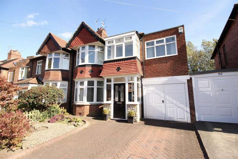 5 Bedrooms Semi Detached House for sale in Midhurst Road, Newcastle Upon Tyne