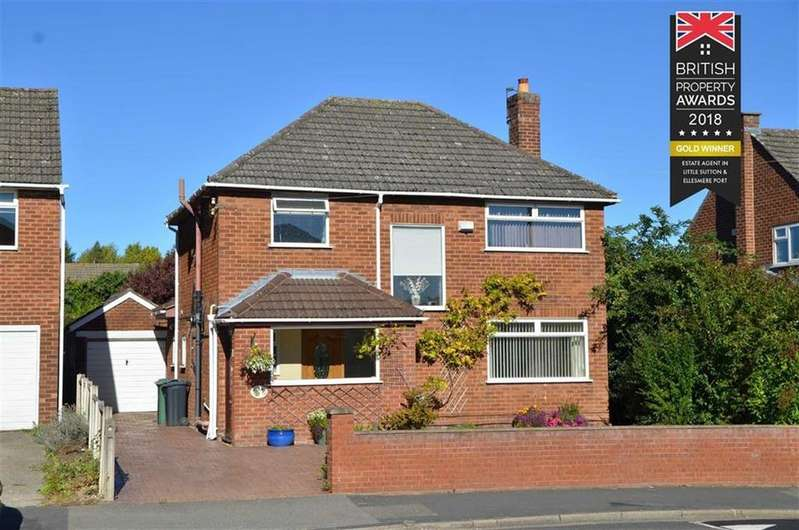 4 Bedrooms Detached House for sale in Underwood Drive, Whitby, CH65