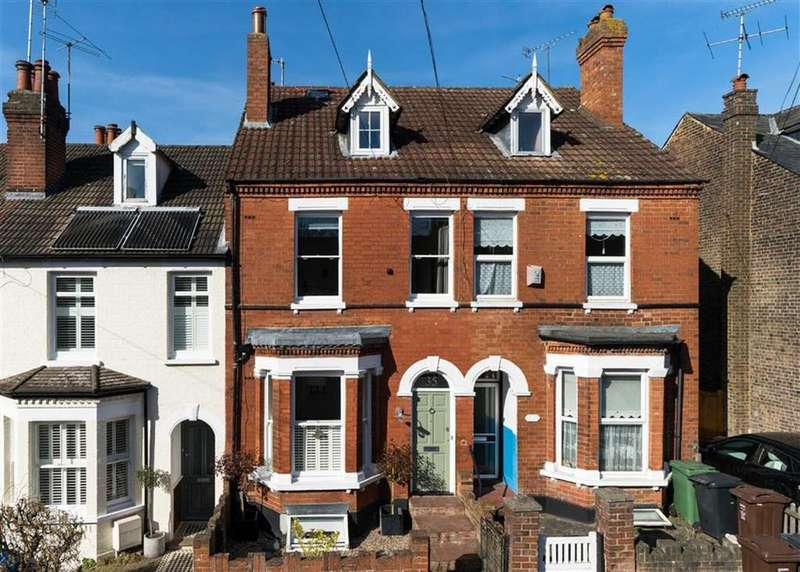 4 Bedrooms Terraced House for sale in Worley Road, St Albans, Hertfordshire
