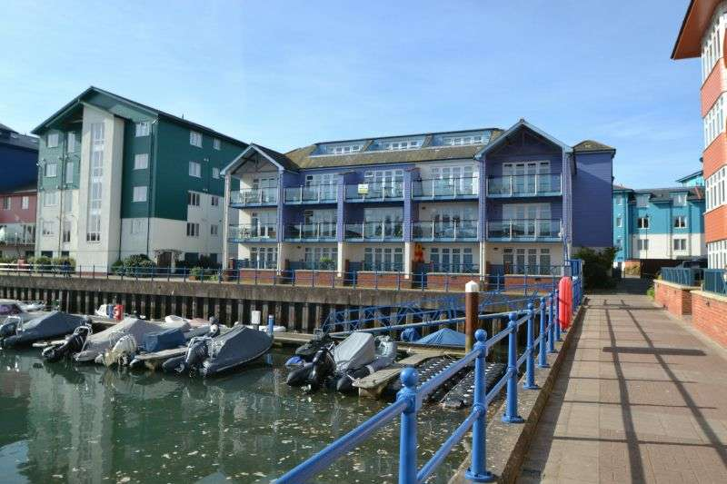 1 Bedroom Flat for sale in MADISON WHARF, EXMOUTH MARINA