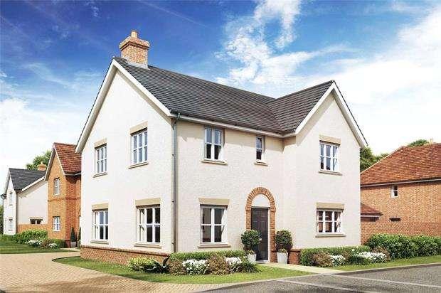 4 Bedrooms Detached House for sale in Oakham Park, Old Wokingham Road, Crowthorne