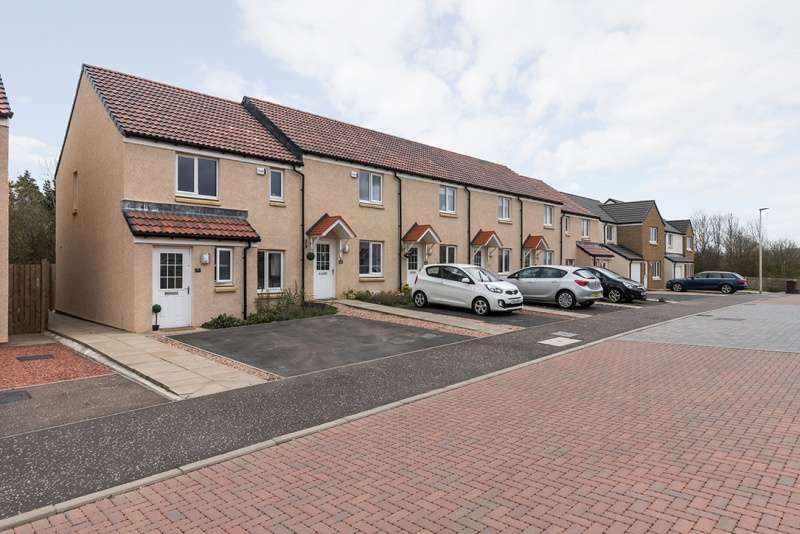 3 Bedrooms End Of Terrace House for sale in Peregrine Avenue, Haddington, East Lothian, EH41 3TF