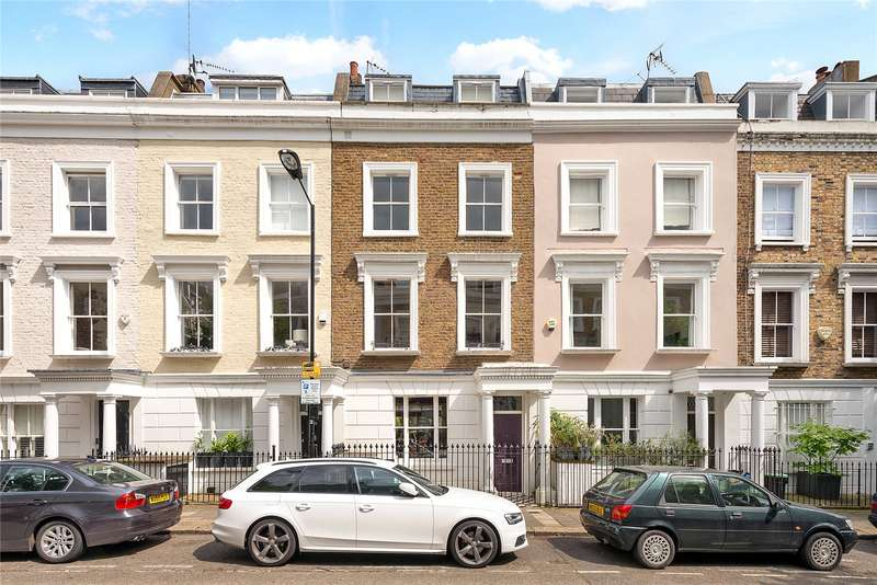 4 Bedrooms Terraced House for sale in Courtnell Street, Notting Hill, London, W2