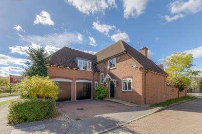 4 Bedrooms Detached House for sale in Digby Croft, Middleton, Milton Keynes