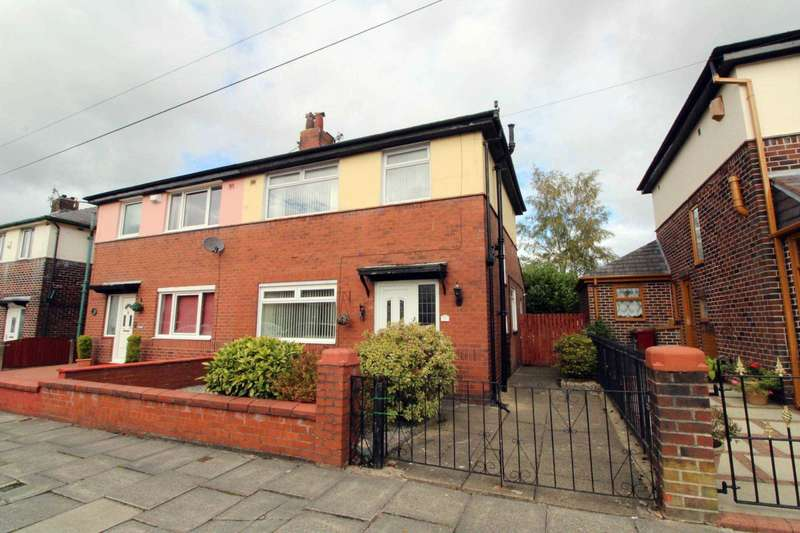 3 Bedrooms Semi Detached House for sale in Normandale Avenue, Bolton