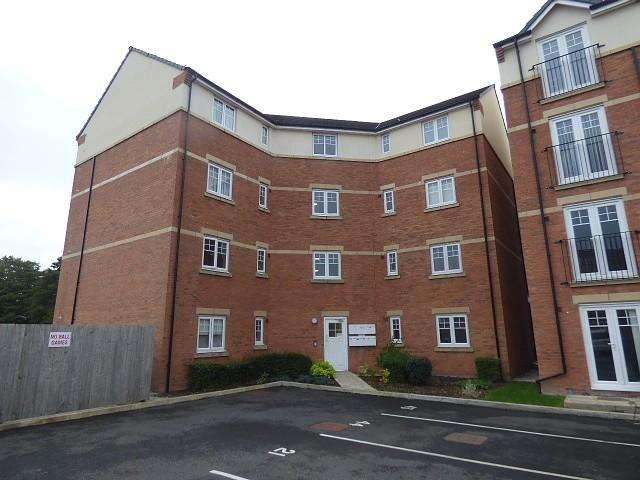 2 Bedrooms Flat for sale in Hucklow Drive, Warrington