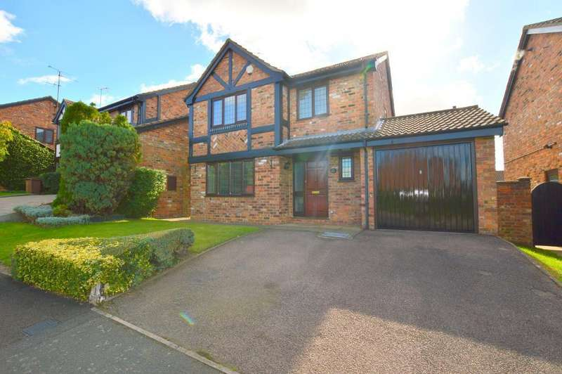 4 Bedrooms Detached House for sale in Woodmere, Barton Hills, Luton, LU3 4DN