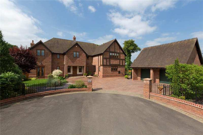 5 Bedrooms Detached House for sale in Childs Ercall, Market Drayton, Shropshire, TF9