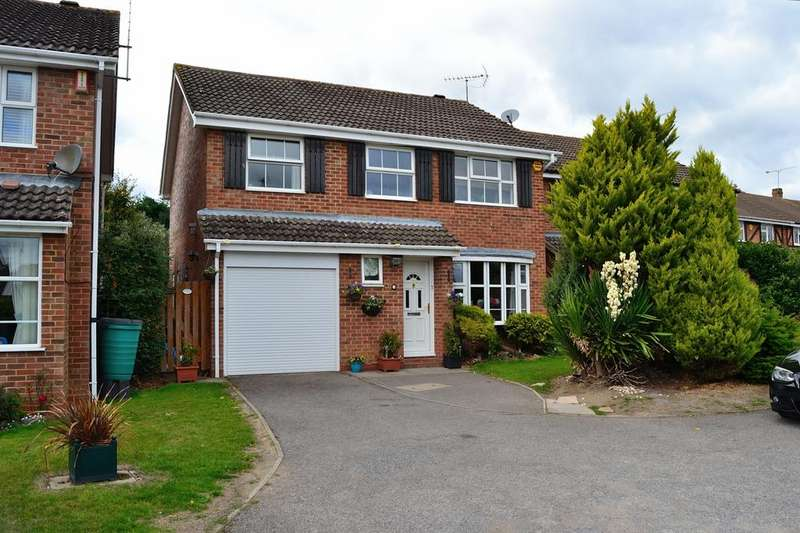 4 Bedrooms Detached House for sale in Wheelton Close, Earley, Reading, Berkshire, RG6 7YD
