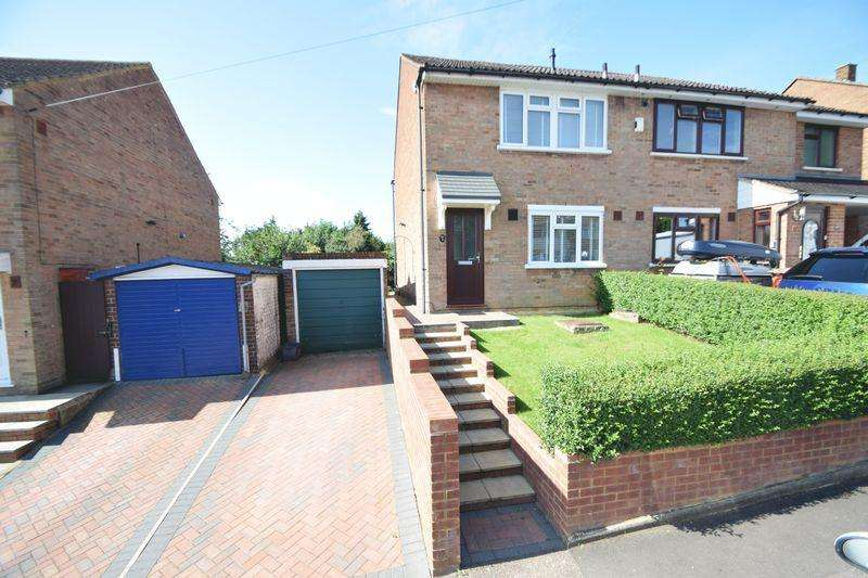 3 Bedrooms Semi Detached House for sale in Dorel Close, Luton