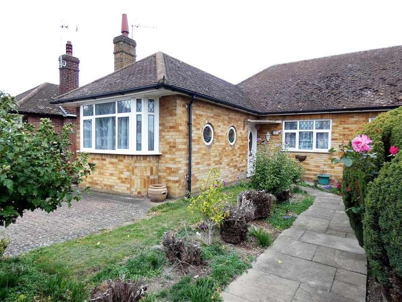 2 Bedrooms Semi Detached Bungalow for sale in Leafields, Houghton Regis