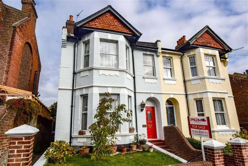 4 Bedrooms Semi Detached House for sale in Vale Road, St Leonards-on-sea, East Sussex
