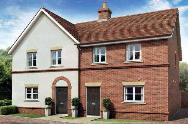 2 Bedrooms Semi Detached House for sale in Oakham Park, Old Wokingham Road, Crowthorne