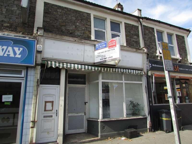 1 Bedroom Flat for sale in 406 Gloucester Road, Horfield, Bristol, City Of Bristol