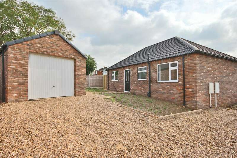 2 Bedrooms Detached Bungalow for sale in Orchard Close, Cherry Willingham, LN3