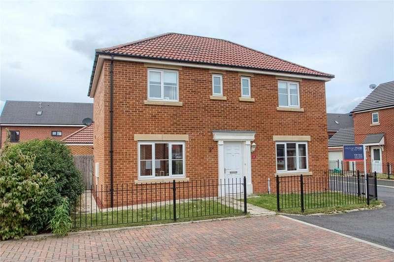 4 Bedrooms Detached House for sale in Corona Court, Low Hartburn