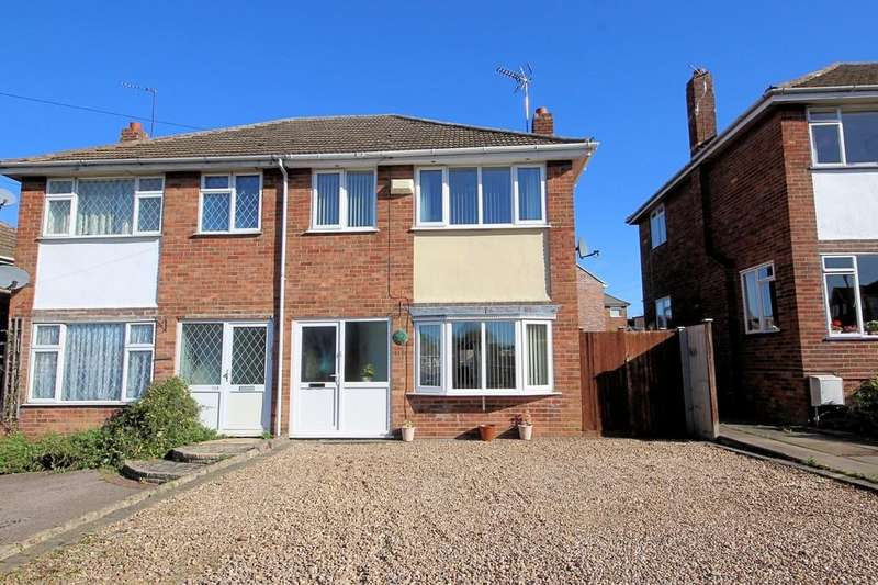 3 Bedrooms Semi Detached House for sale in Highgate Road, Sileby