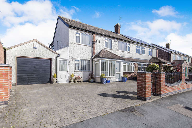 5 Bedrooms Semi Detached House for sale in Gilberts Drive, Newbold Verdon, Leicester, LE9